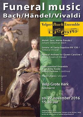 Velper Bach Ensemble - Funeral music