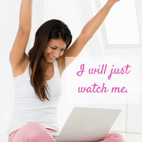 I WILL, JUST WATCH ME!