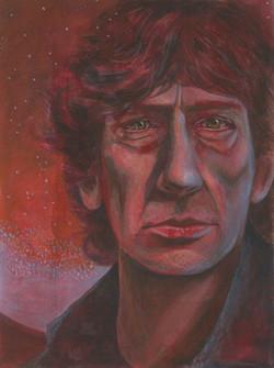 Portrait of Neil Gaiman