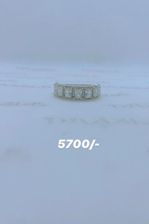 Silver  fancy ring
