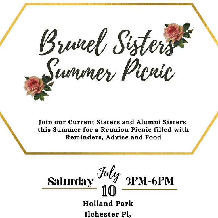 Brunel Sisters Summer Picnic