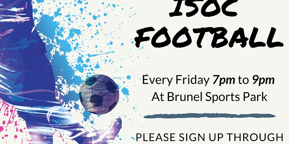 ISOC Brothers Football ⚠️ Postponed Until Further Notice⚠️