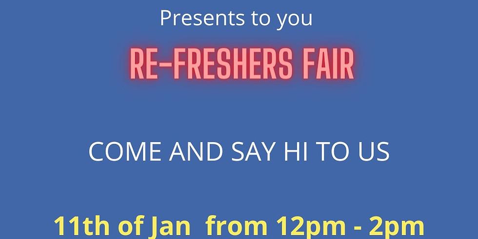 Re Freshers Fair 2021 - Monday 12PM - 2PM