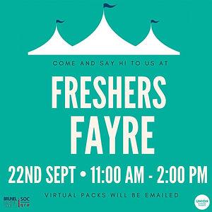 Freshers Fayre