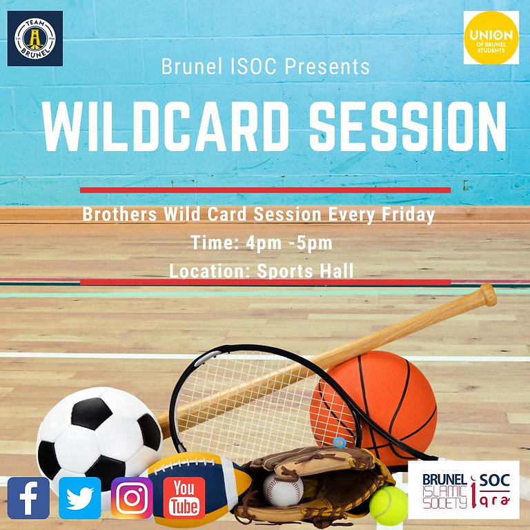Brothers WILDCARD Session ⚠️ Postponed Until Further Notice⚠️