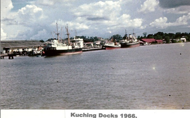Kuching Docks 1966.png