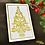 Thumbnail: Foiled Christmas tree card