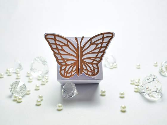 Butterfly themed cake box
