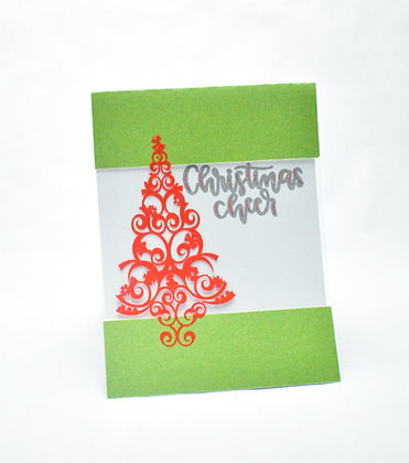 Acetate layered Christmas