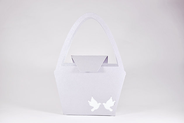 Dove cut-out gift bag
