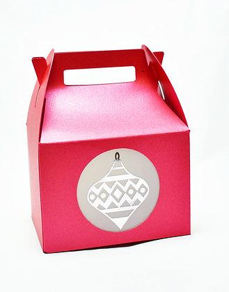 Christmas themed gift box
