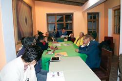 Meeting with Latacunga Rotary Club