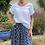 Thumbnail: Italian Collection White Linen Panelled Top