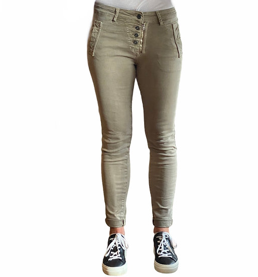 Parisian Style Luxe Melly Stone Jeans