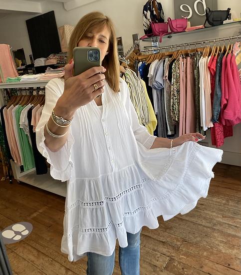 Aimee Cotton Tunic Dress