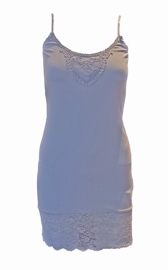 By Ti Mo Sky Blue Heart Vest