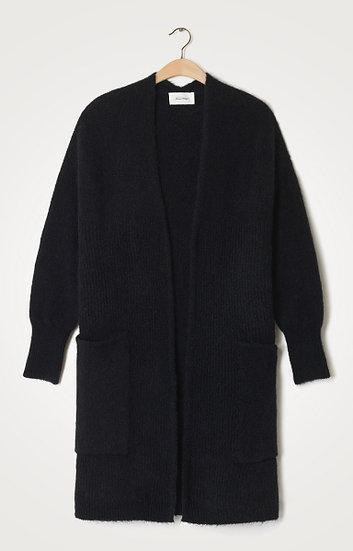 American Vintage East Long Black Cardigan
