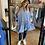 Thumbnail: Aimee Blue Cotton Tunic