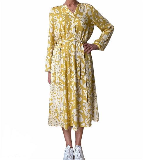 Culture Spring Ochre Shirt Dress