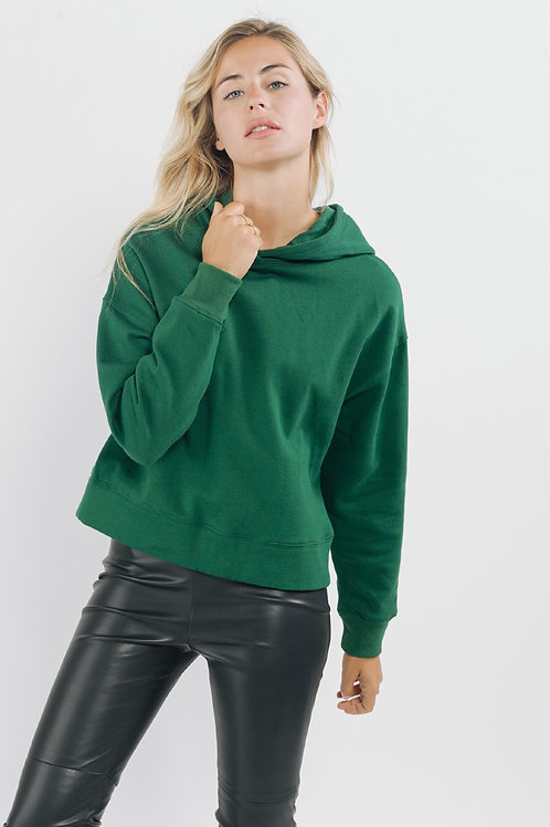 Sweewé Green Hooded Sweatshirt