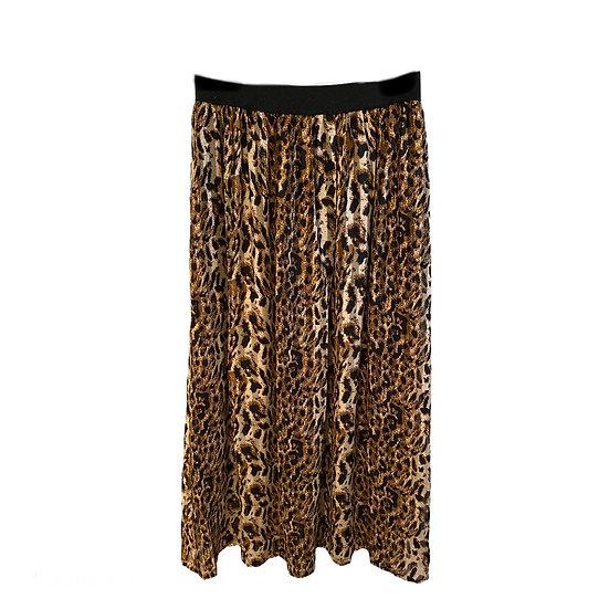 Culture DK Everly Animal Print Skirt
