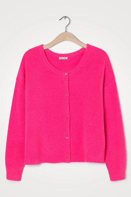 American Vintage Pink Cardigan