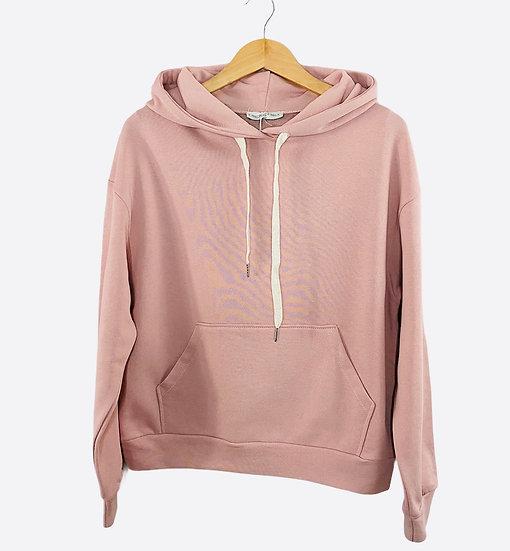 Pink Luxe Hooded Sweatshirt