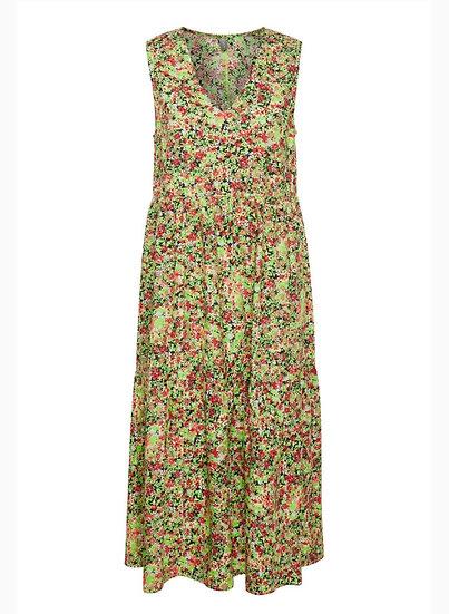 Culture Green Floral Maxi Dress