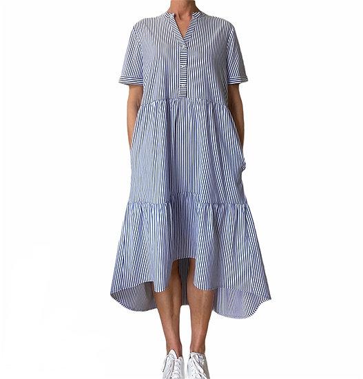 Culture Blue Stripe Summer Dress