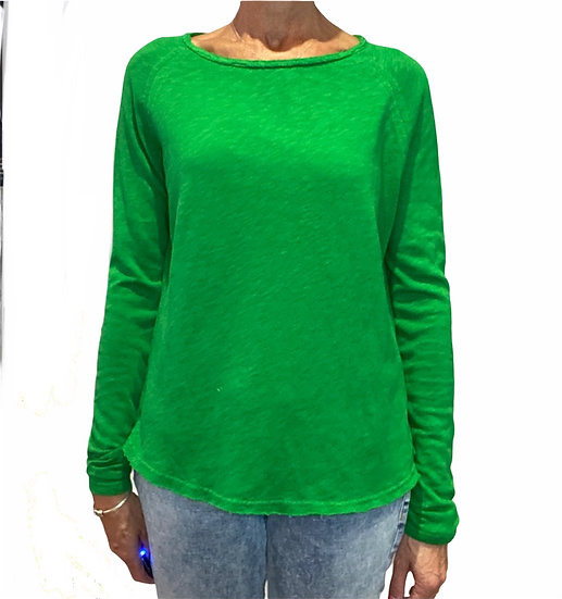 New AW American Vintage Son 31 Lawn Green Tee
