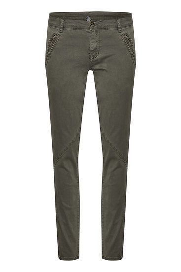 Culture Alba Olive Trousers