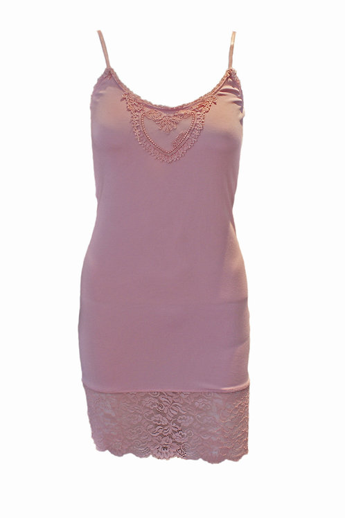 By Ti Mo Rose Pink Heart Vest