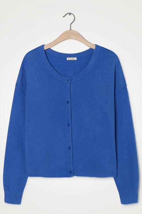 American Vintage Blue Cardigan