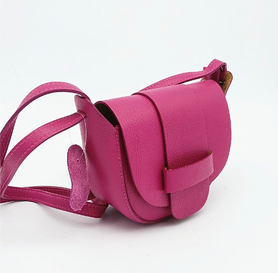 Cerise Small Leather Crossbody Bag