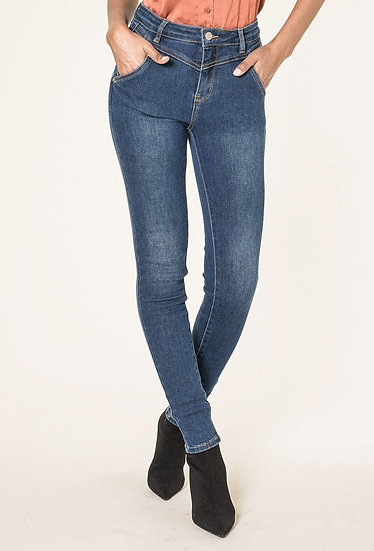 Parisian Style NC Blue Denim Skinny Jeans