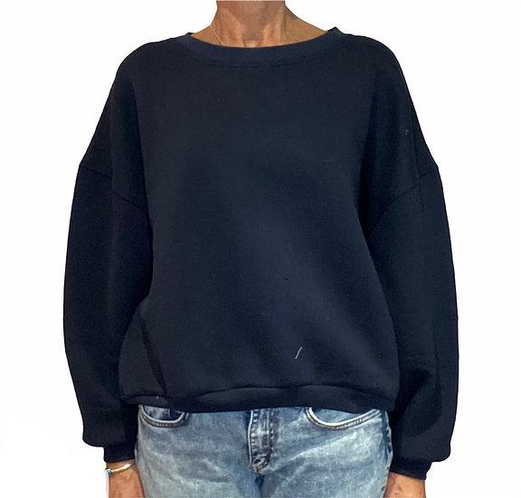 New AW Americirtan Vintage Ikatown Navy Sweatshirt