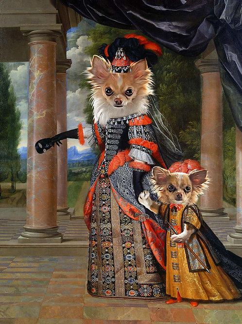 Queen & Child