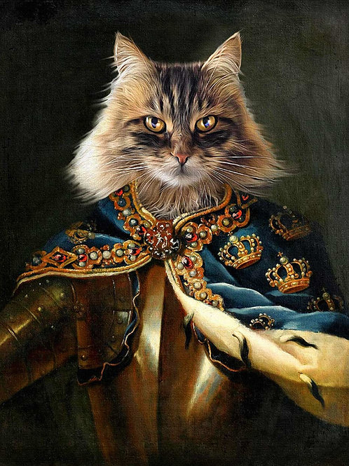 King Karl of Sweden