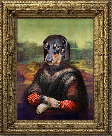 New mona lisa framed.jpg