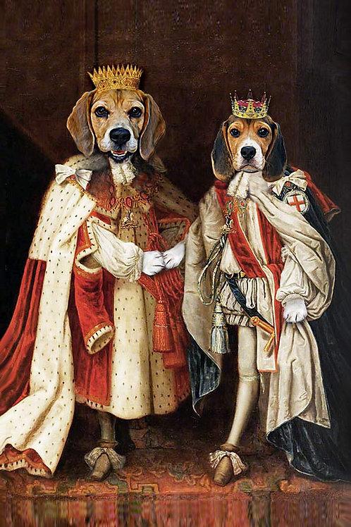 King James & King Charles