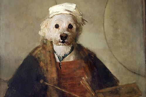 The Artist - Rembrandt Self Portrait