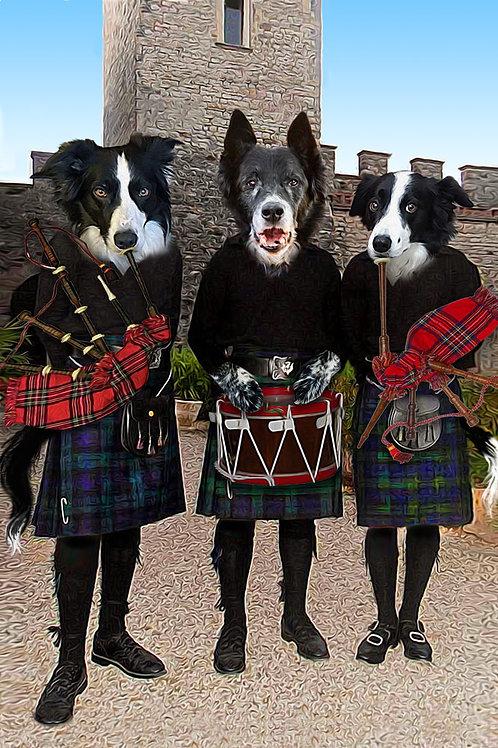 Scottish Musician Trio
