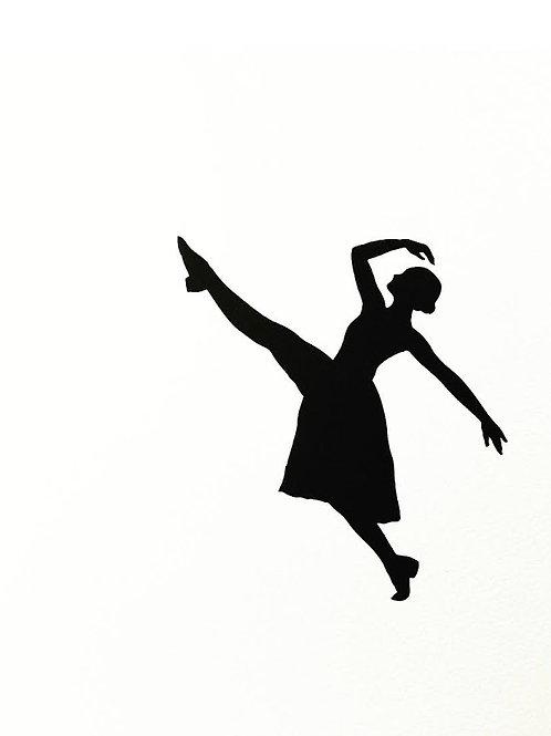 "(#44/2020)dance is the hidden language of the soul.-Martha Graham {12}12x12"""