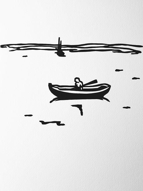 "(#173/2020), ""missing Maine {3}"" (12x12"")"