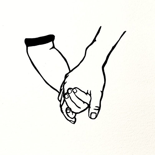 (#91/2021) we console ourselves with a tender touch {#10} 9x9""