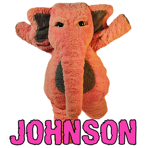 Johnson the Pink Elephant
