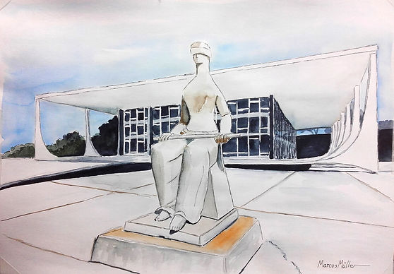 The Justice Statue