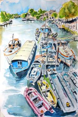 Thames by Richmond Bridge