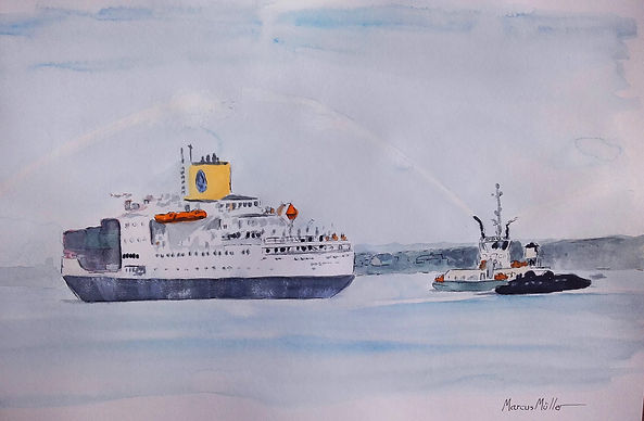 Last Voyage of the RMS St Helena