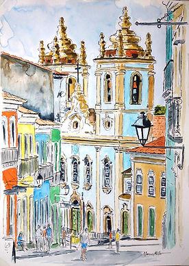 Pelourinho - Historic Centre of Salvador